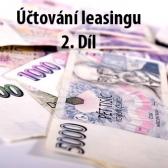Účtování leasingu 2. díl: praktický příklad